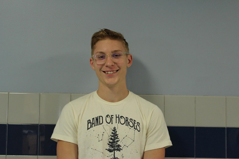 Senior Ethan Myers