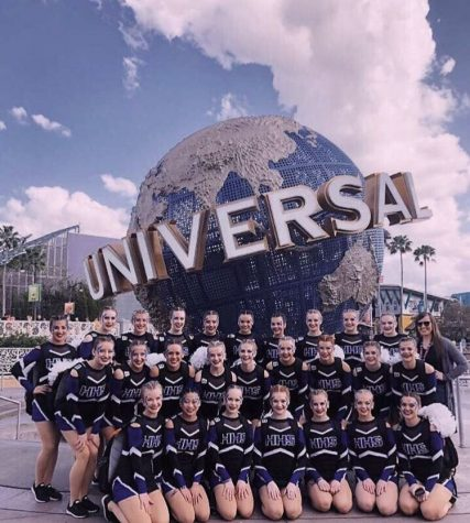 Dance Team Competes in Orlando, Florida
