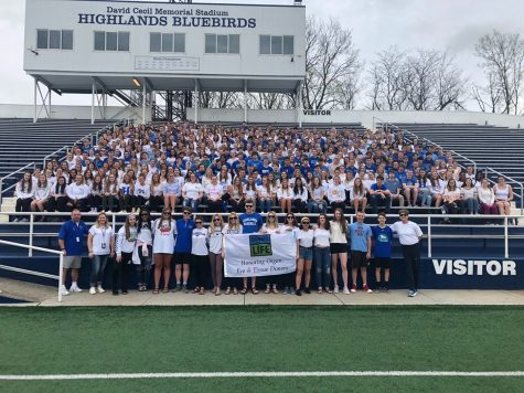 Highlands bands together to support organ donation