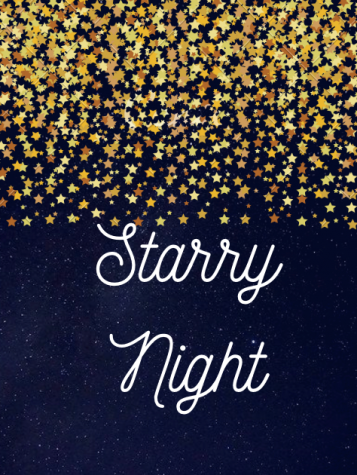 "The theme of Homecoming will be ""Starry Night"" with a color palette of blue, black, yellow, and white.   Image courtesy of FCCLA."