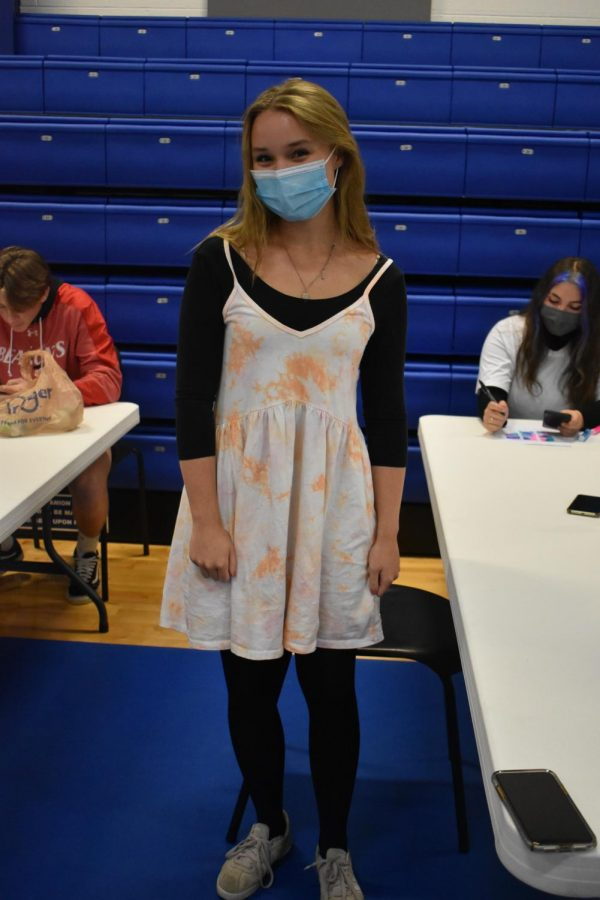 PHOTO GALLERY: Students show out in tie dye for day two of Spirit Week