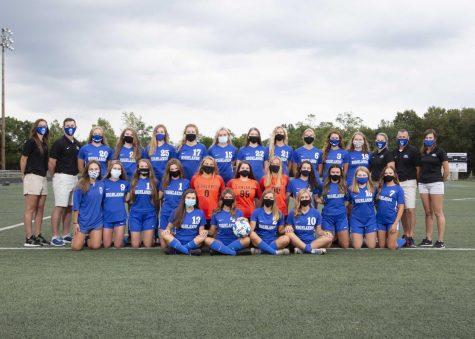 The Highlands High School girls varsity soccer team.  Photo courtesy of Highlands Girls Soccer Twitter Page (@hhsgirlsscr).