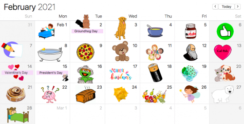 February Calendar of Celebrations
