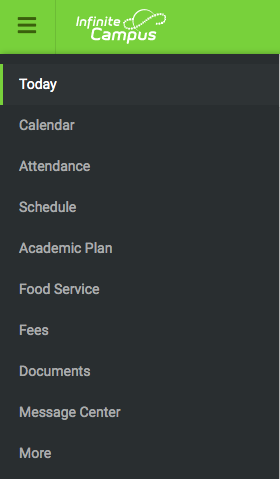Students will be scheduling through Infinite Campus this year.