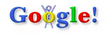 This was the first Google Doodle ever published in commemoration of the Burning Man Festival.