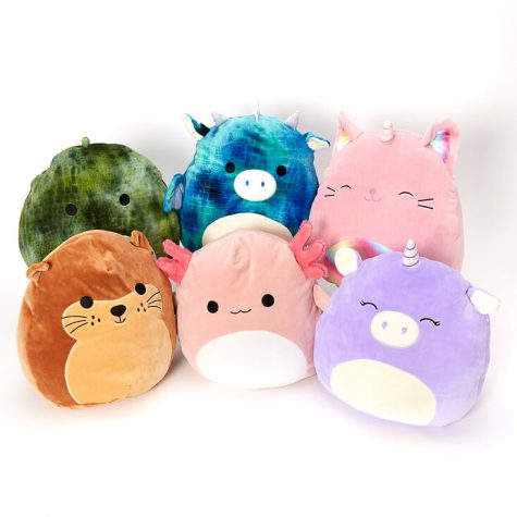 A squad of Squishmallows