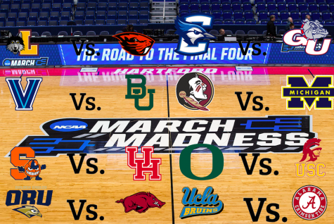 This image depicts the teams in the Sweet Sixteen  this weekend.