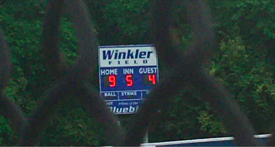 The softball team finishes off their game with a score of 9-4, leading to a win against Connor.