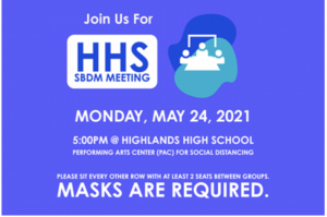 SBDM discusses highly debated course at May Meeting