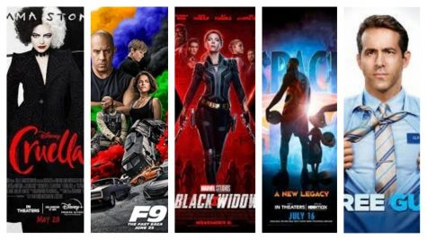Top five movies to watch in the summer of 2021