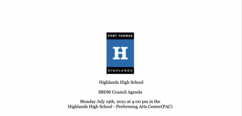 SBDM approves first GSA at Highlands High School at July meeting
