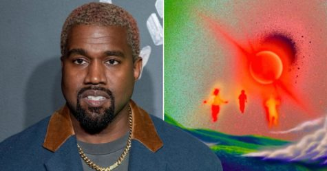 Kanye shares Donda album cover.