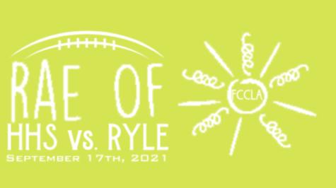 The Rae of Sunshine foundation T-shirt design for the Highlands High School football game against Ryle High School on September 17.