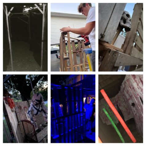 Photos of the Cleveland familys haunted house.